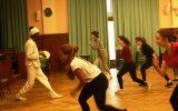 Un stage Capoeira pour les élèves en section théâtre
