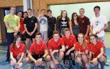 L'équipe de badminton en inter-établissements