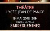 Tous au théâtre le 16 mai à 20h : Les élèves présenteront leur travail de l'année